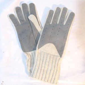 NEW BARNEY'S NEW YORK CASHMERE Driving Gloves